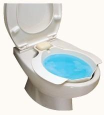 Bidet sanitarny na muszlę klozetową biały 18000LR