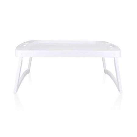 Stolik na łóżko plastikowy biały